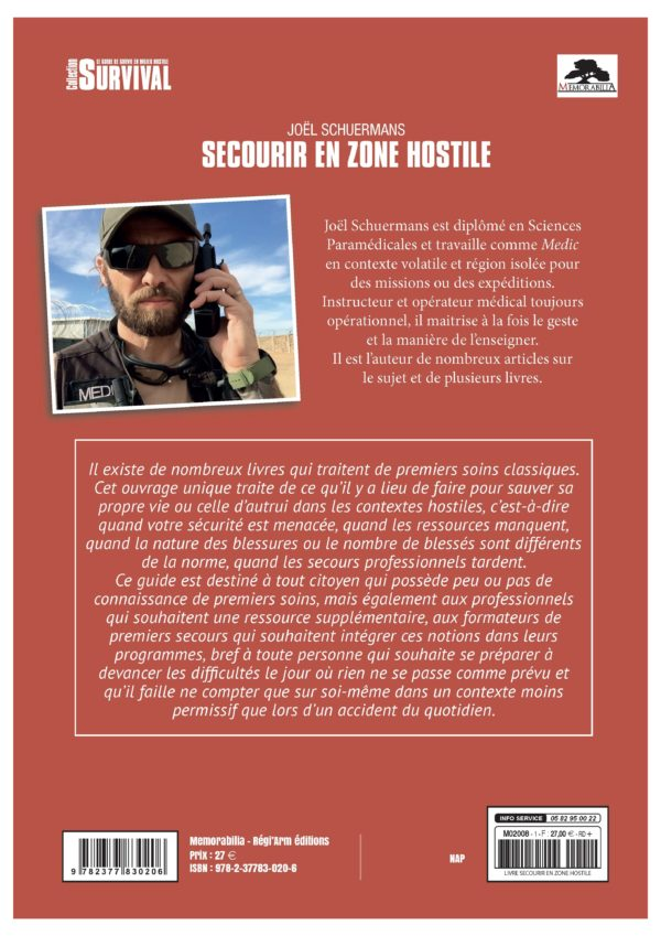 Secourir en zone hostile, Joël Schuermans